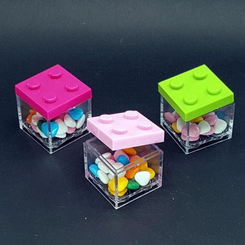 Matrimonio Tema Lego : Scatola lego quadrato in pvc u2013 bomboniere e articoli da regalo